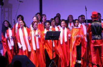 Concert Chorale à Mantes-la-Jolie en décembre 2016
