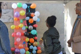 Kermesse pour la fête de la vie en Octobre 2017, à Mantes la Jolie